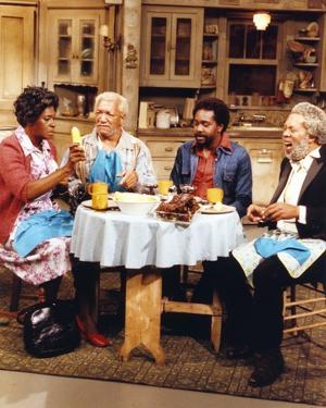Sanford & Son Dinning Portrait by Movie Star News
