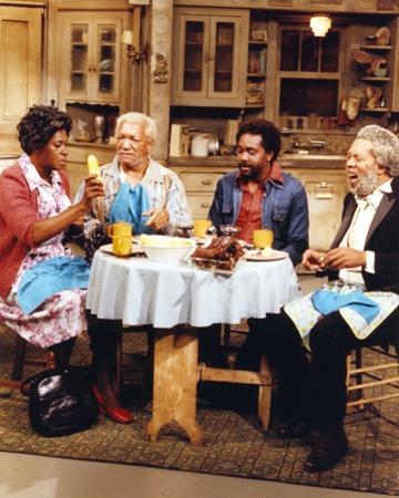 Sanford & Son Dinning Portrait by Movie Star News