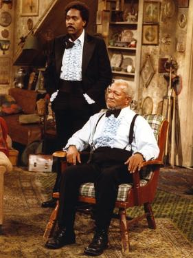 Sanford & Son in Formal Outfit Portrait by Movie Star News