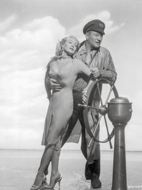 Sea Chase Black and White Couple Portrait by Movie Star News
