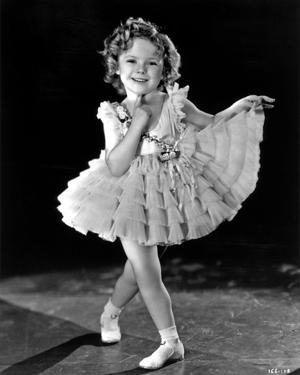 Shirley Temple Posed in Ballet Outfit Classic Portrait by Movie Star News