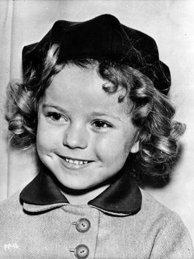 Shirley Temple smiling Pose in Classic Portrait by Movie Star News