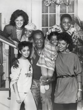 Show Cosby Taking a Family Picture by Movie Star News