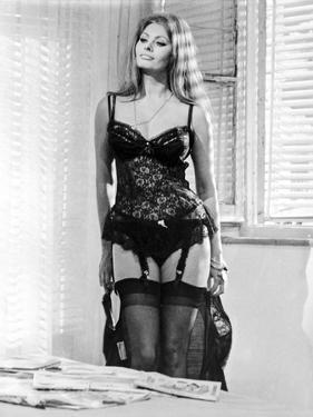 Sophia Loren wearing a Lingerie by Movie Star News