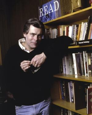 Stephen King in Black Sweater by Movie Star News