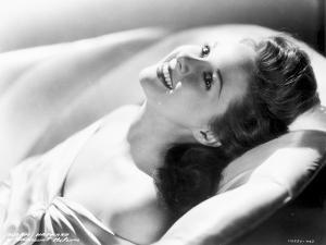 Susan Hayward Lying in a Dress by Movie Star News