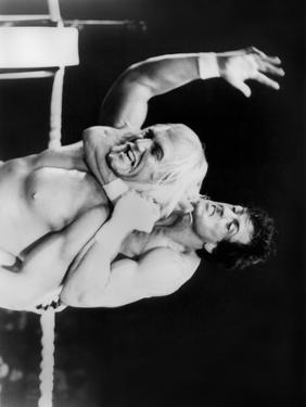 Sylvester Stallone Submitting in a Classic Fighting Scene by Movie Star News