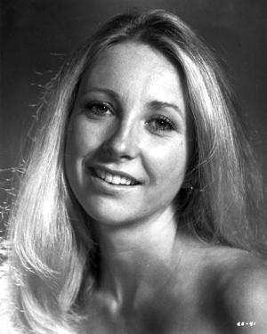 Teri Garr Portrait in Black and White by Movie Star News