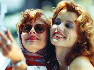 Thelma & Louise in White Dress by Movie Star News