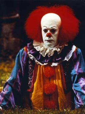 Tim Curry Posed in Clown Outfit by Movie Star News