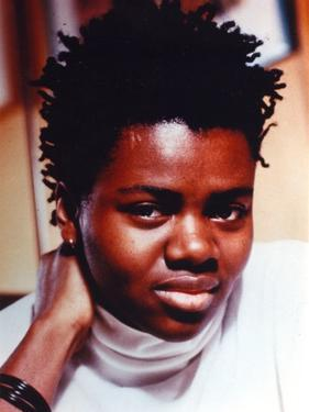 Tracy Chapman Portrait in White Shirt by Movie Star News