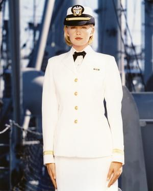 Tracy Needham in Officer Outfit Portrait by Movie Star News