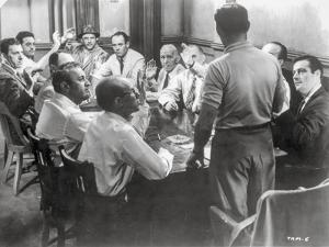 Twelve Angry Men Conference Room Scene by Movie Star News