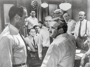 Twelve Angry Men Fight Scene by Movie Star News