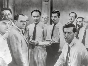 Twelve Angry Men in Group Picture by Movie Star News