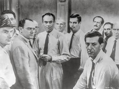 Twelve Angry Men in Group Picture