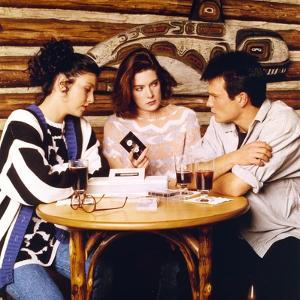 Twin Peaks Movie Scene with Sherilyn Fenn and Kyle Maclachlan and Sheryl Lee by Movie Star News