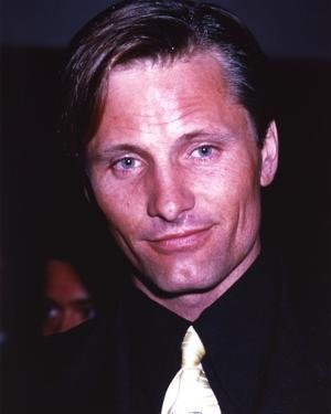Viggo Mortensen Posed Black Suit Portrait by Movie Star News