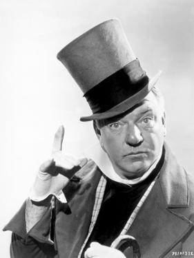 W C Fields Man on Magician's Hat by Movie Star News