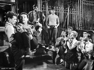 West Side Story People Begging to a Man by Movie Star News