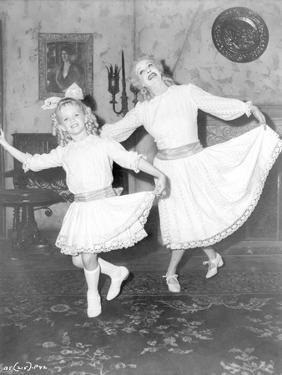 Whatever Happened To Baby Jane Girl and Old Woman Bowing by Movie Star News
