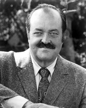 William Conrad Posed in Coat With Necktie by Movie Star News