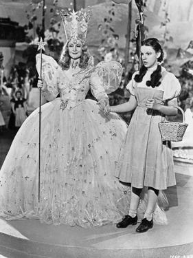 Wizard Of Oz Two Ladies Holding Hands in Black and White by Movie Star News