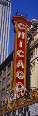 Movie Theater, Chicago Theatre, Chicago, Illinois, USA
