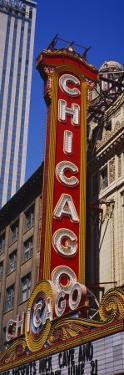 Movie Theater, Chicago Theatre, Chicago, Illinois, USA