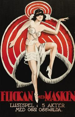 "Movies and Masks ""Flickan Med Masken"""