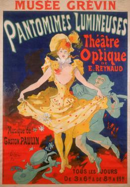 Moving Picture Show, France, 1898