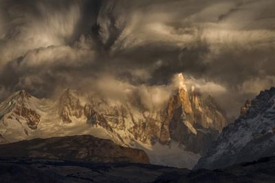 Before the storm covers the mountains spikes by MQEP Svoboda