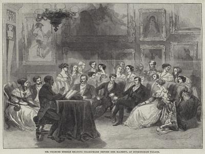 Mr Charles Kemble Reading Shakespeare before Her Majesty, at Buckingham Palace