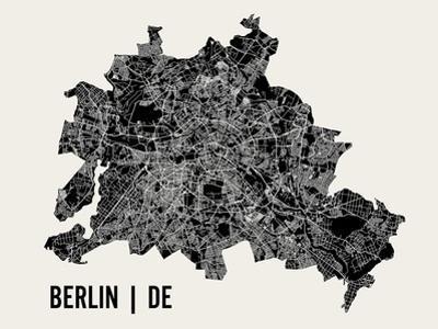 Berlin by Mr City Printing