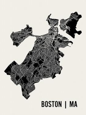 Boston by Mr City Printing