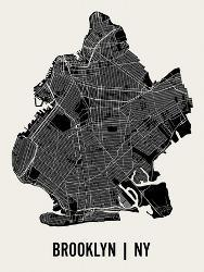 Affordable maps of brooklyn posters for sale at allposters brooklyn by mr city printing malvernweather Images