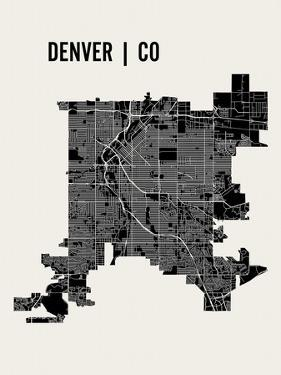Denver by Mr City Printing