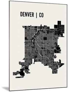 Denver by Mr City Printing