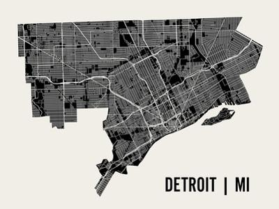 Detroit by Mr City Printing