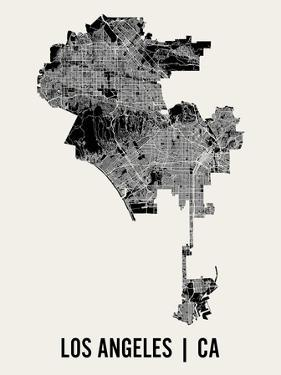Los Angeles by Mr City Printing