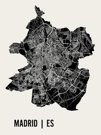 Madrid by Mr City Printing