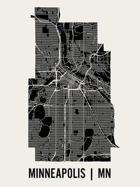 Minneapolis by Mr City Printing
