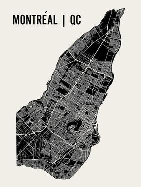 Montreal by Mr City Printing