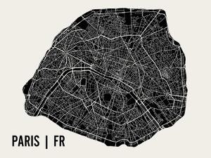 Paris by Mr City Printing