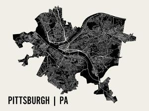 Pittsburgh by Mr City Printing