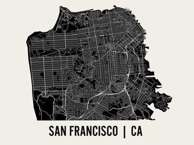 San Francisco by Mr City Printing