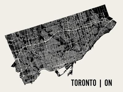 Toronto by Mr City Printing