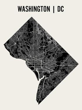 Washington DC by Mr City Printing