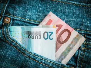 Jeans Pocket Money by Mr Doomits