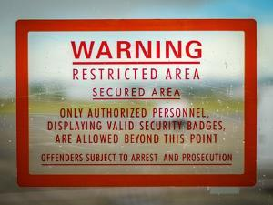 Restricted Access Sign by Mr Doomits